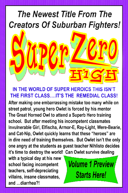 Super Zero High : First Day Of Fools – PREVIEW #2