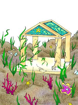 seafloor temple