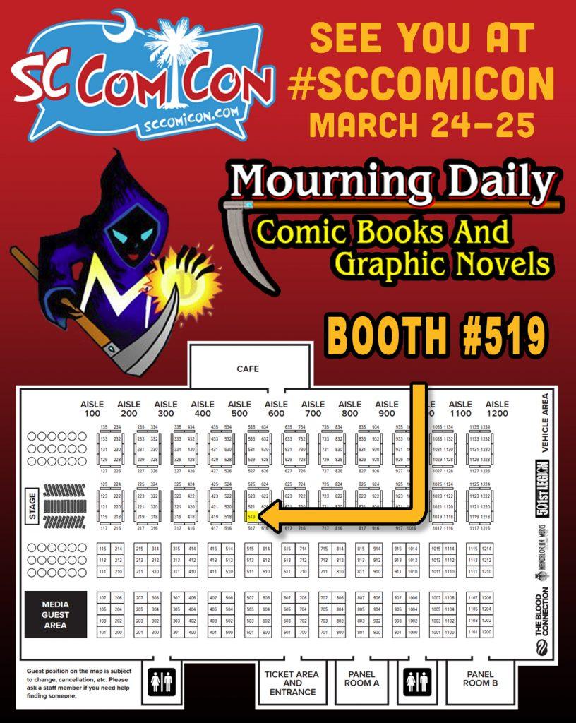 SC Comicon 2018